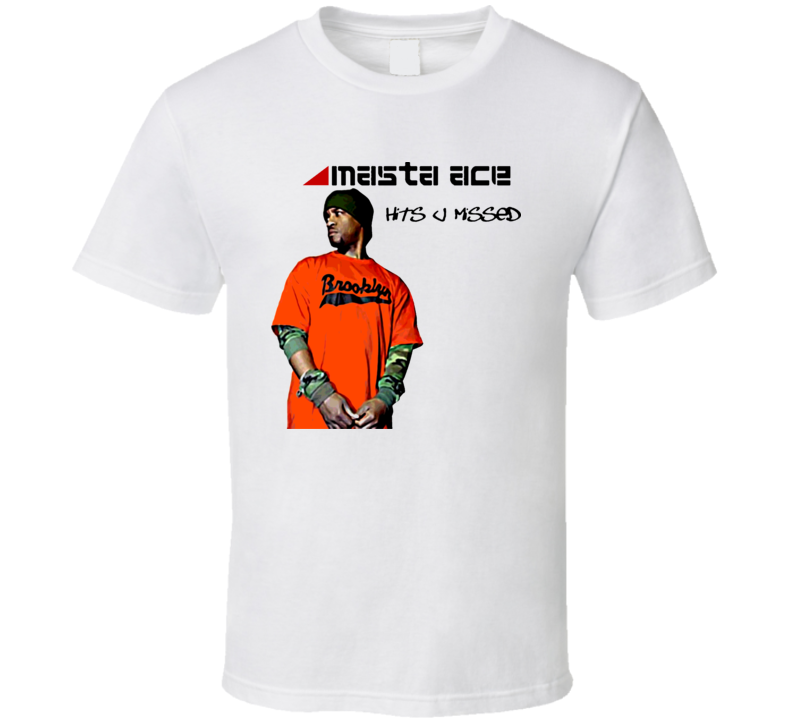 Masta Ace Hits U Missed Rap T Shirt