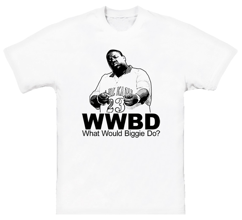 WWJD The Notorious BIG Biggie Smalls Hip Hop Rap T Shirt