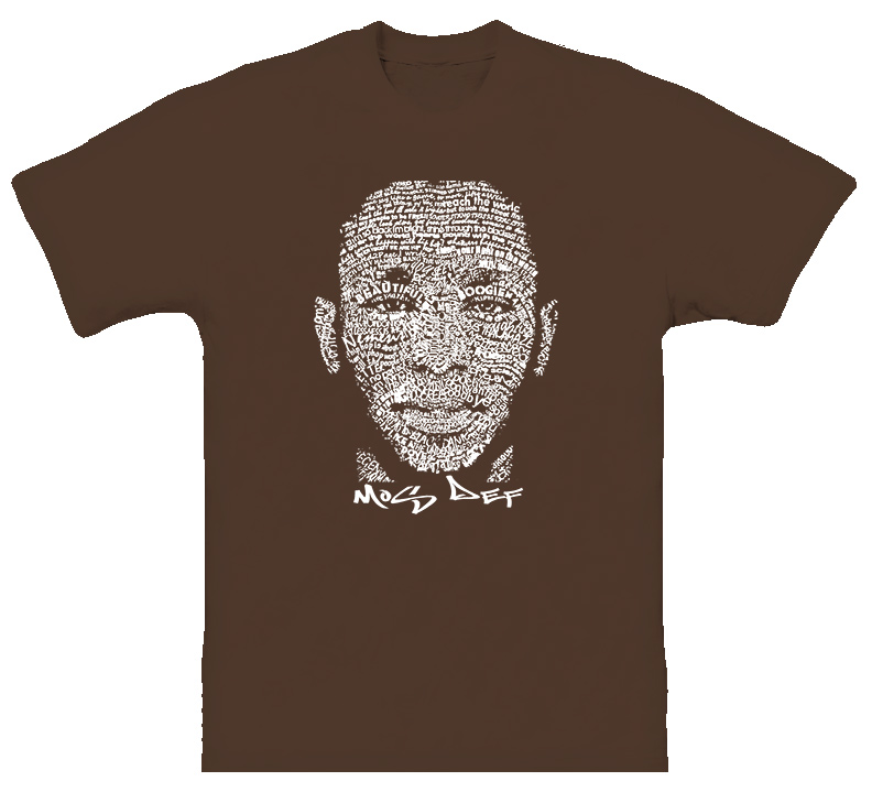 Mos Def Lyrics Hip Hop Rap T Shirt
