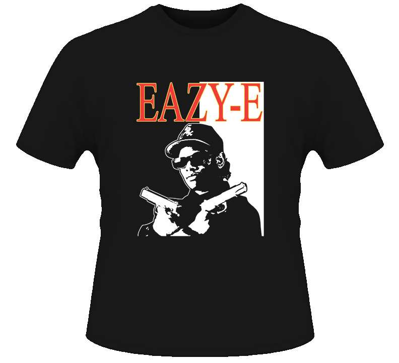 Eazy E Scarface Hip Hop Rap T Shirt