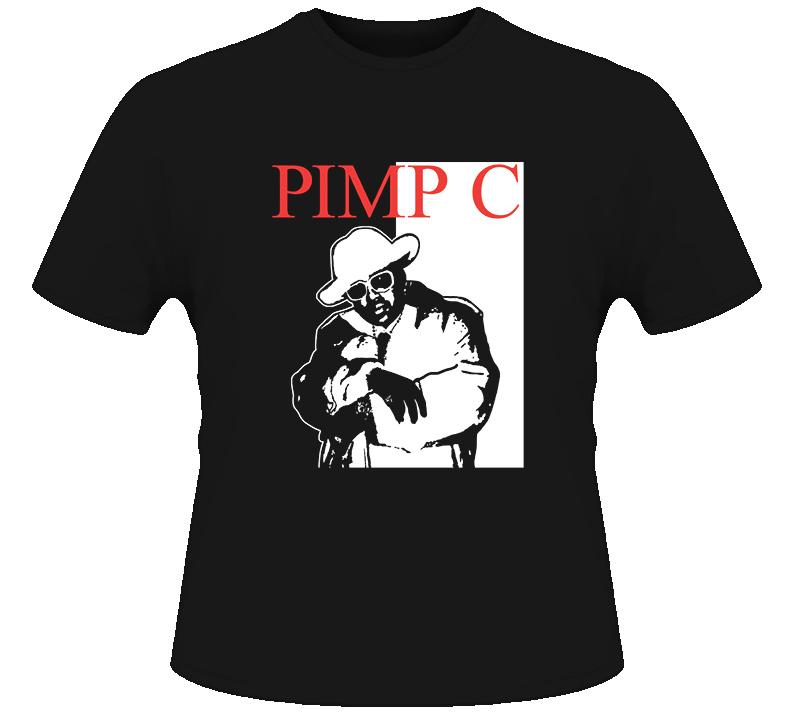 Pimp C UGK Underground Kingz Hip Hop Rap T Shirt