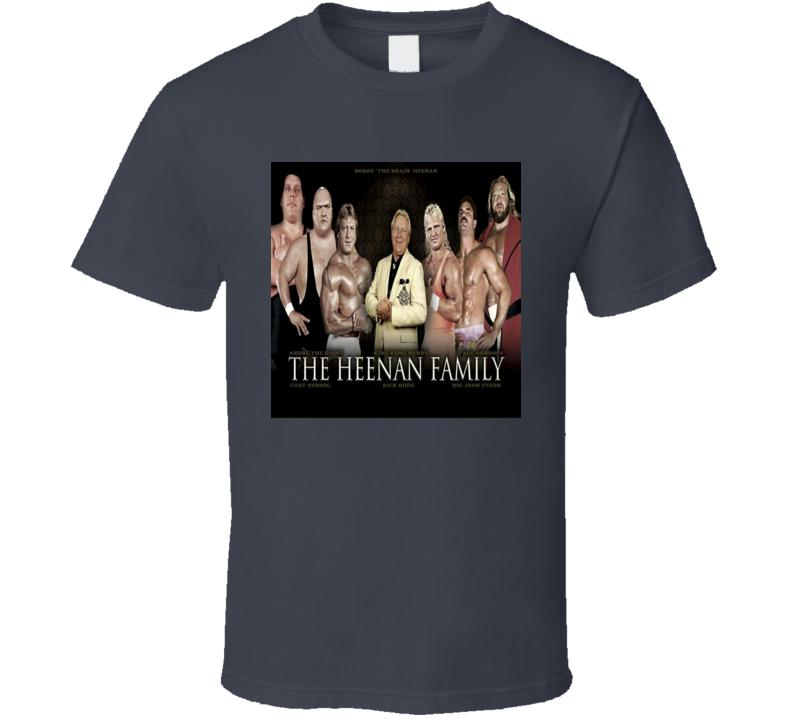 Heenan Family Retro 80s Wrestling Stable Classic Vintage T Shirt