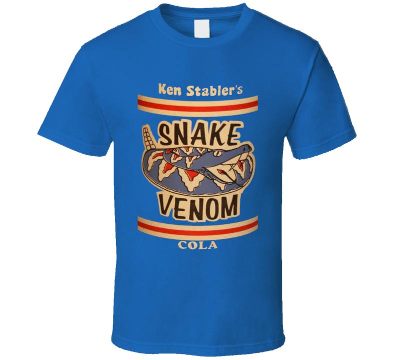 Ken Stabler Snake Venom Cola Drink T Shirt