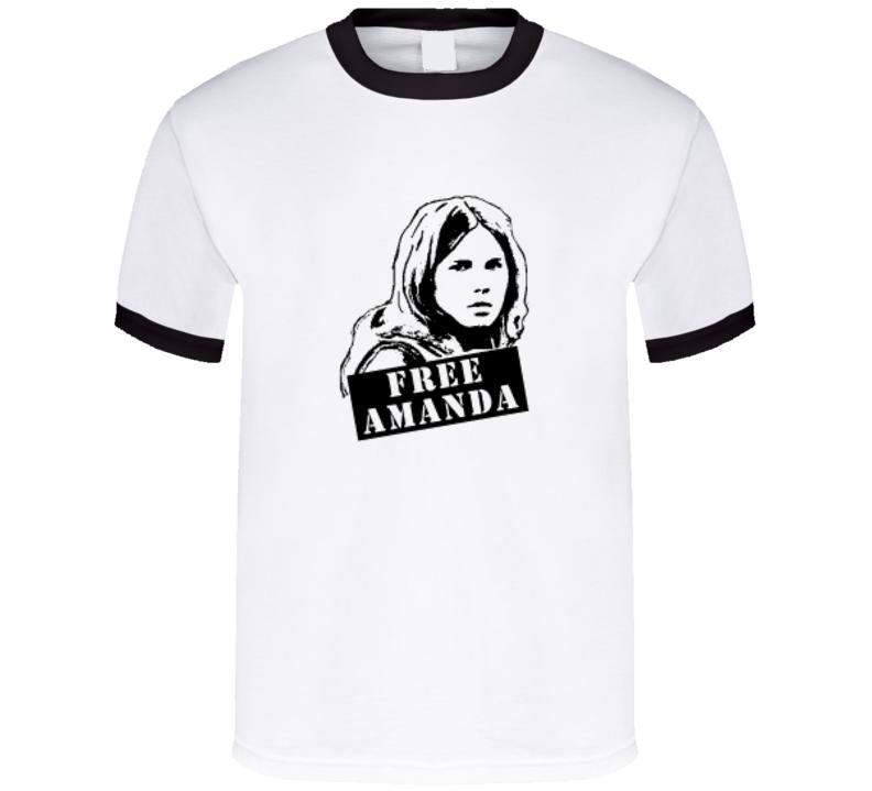 Free Amanda Knox T Shirt