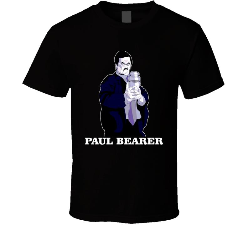 Paul Bearer Wrestling Manager T Shirt