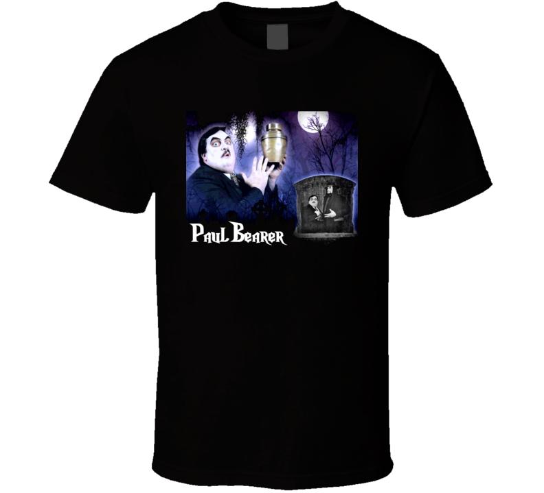 Paul Bearer Wrestling Manager Undertaker T Shirt