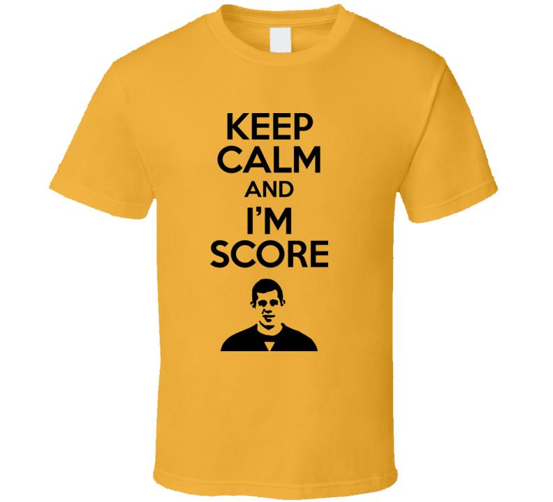 Keep Calm And Im Score Evgeni Malkin Geno Pittsburgh Hockey T Shirt