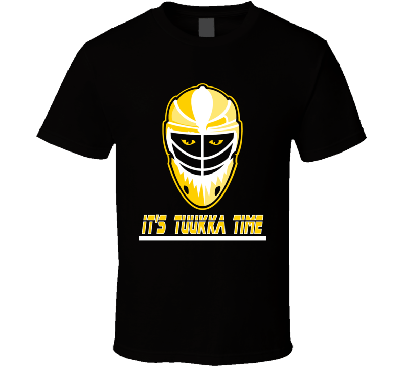Tuukka Rask It's Tuukka Time Goalie Hockey Boston T Shirt