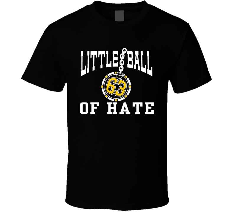 Brad Marchand Little Ball Of Hate Boston Hockey T Shirt