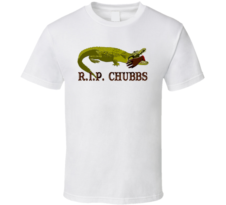 Happy Gilmore Chubbs Peterson RIP Funny Movie T Shirt