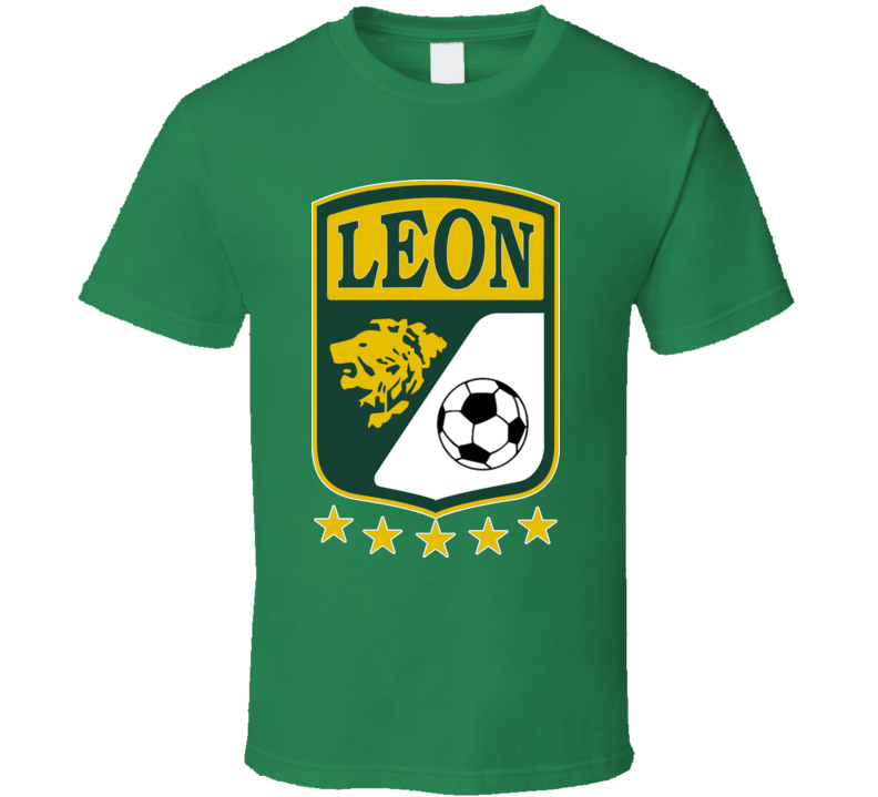 Club Leon Mexican Futbal Mexico Soccer Guanajuato T Shirt