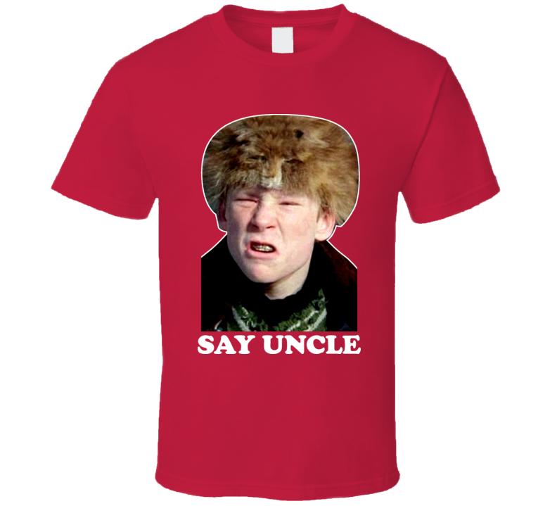 Scut Farkus Say Uncle A Christmas Story Xmas T Shirt