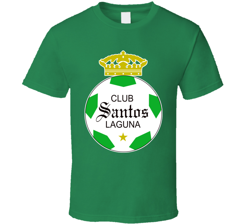 Santos Laguna Mexico Soccer Club Mexican Futbal T Shirt