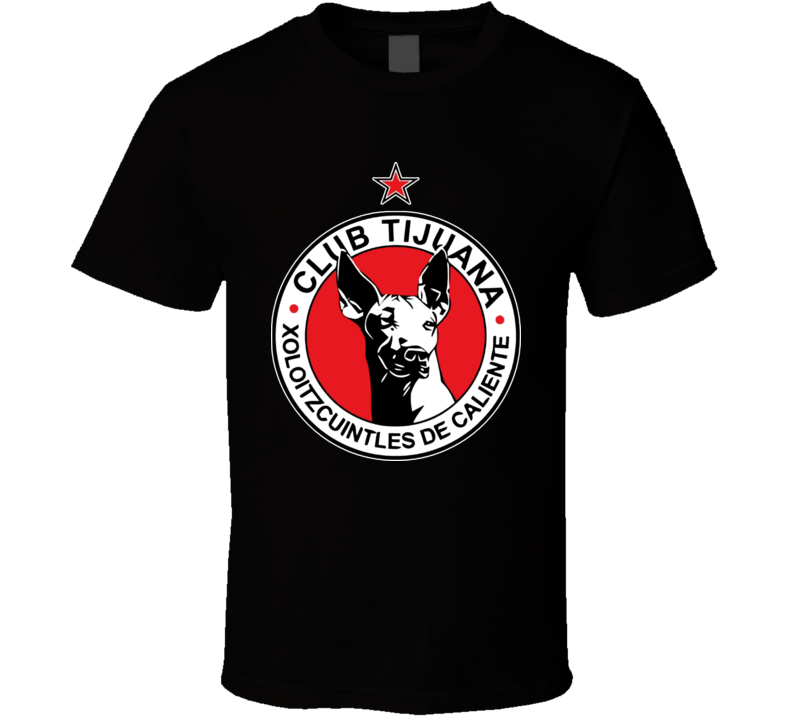 Club Tijuana Soccer Futbal Mexico Mexican Latino T Shirt