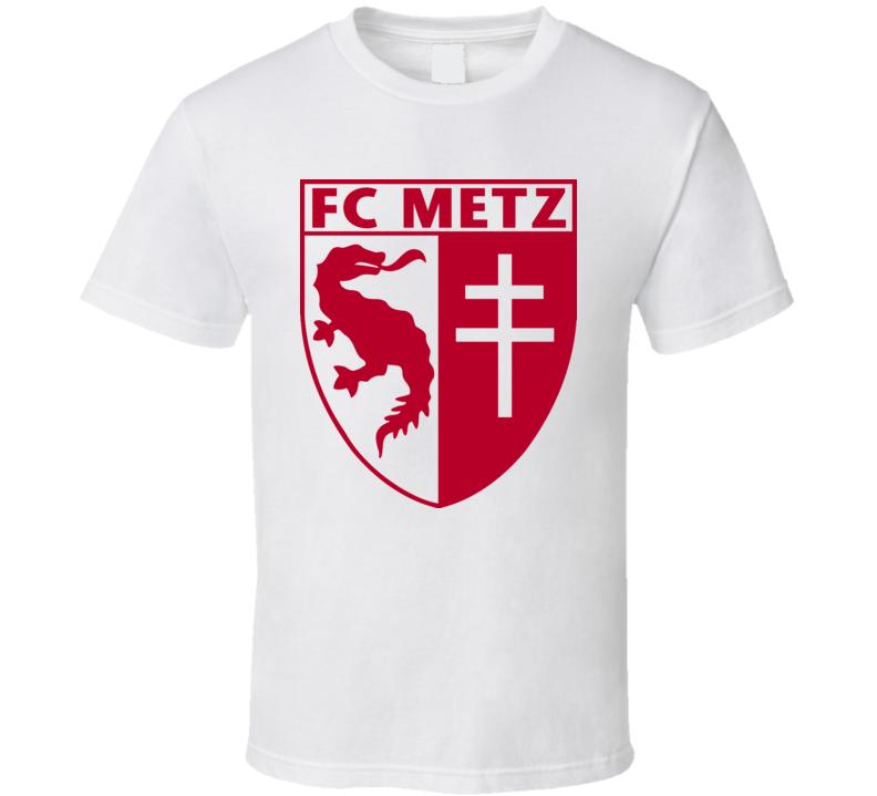 FC Metz French League Soccer T Shirt
