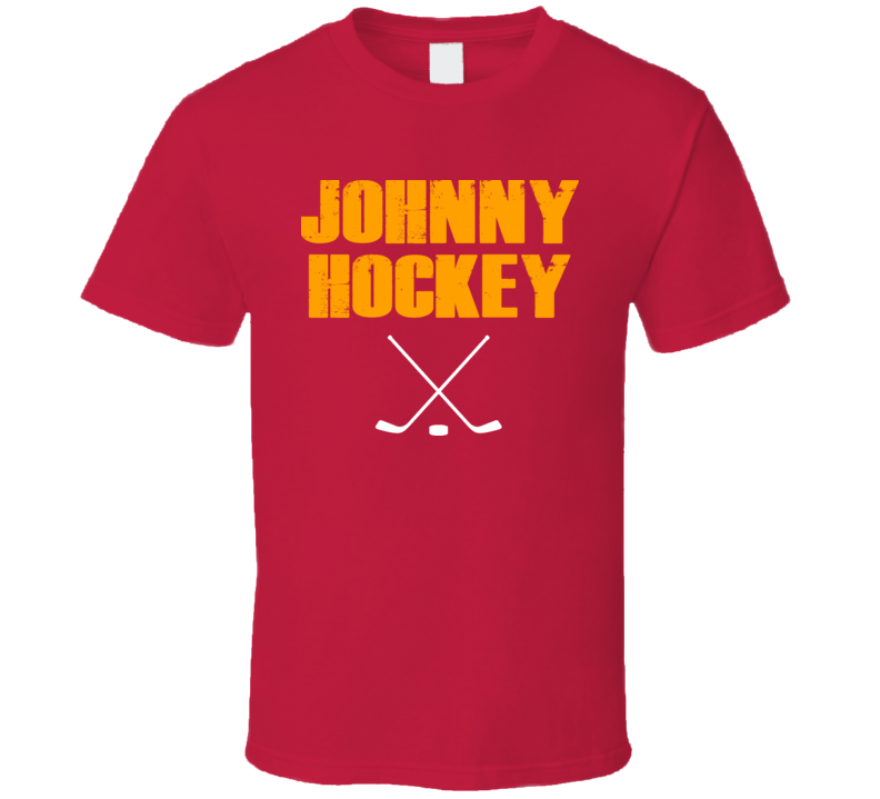 Johnny Hockey Johnny Gaudreau Calgary T Shirt