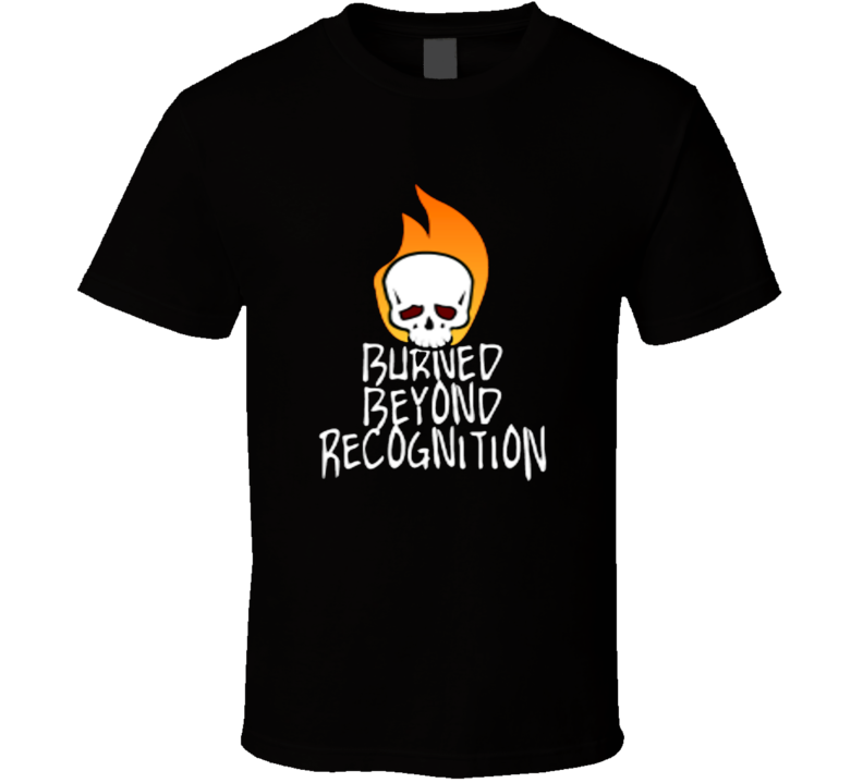 Burned Beyond Recognition Married With Children Rock Band T Shirt