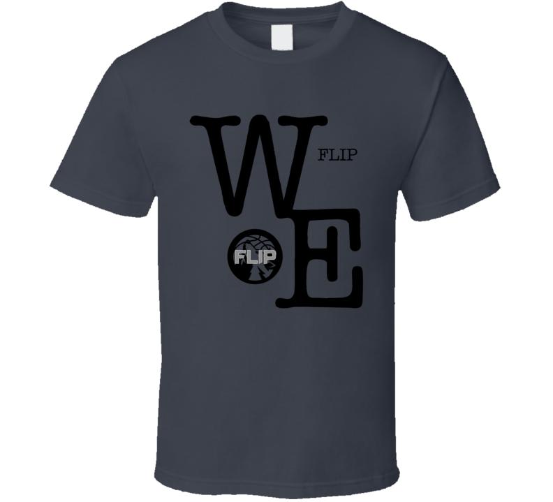 We Flip Minnesota Basketball Flip Saunders Tribute T Shirt