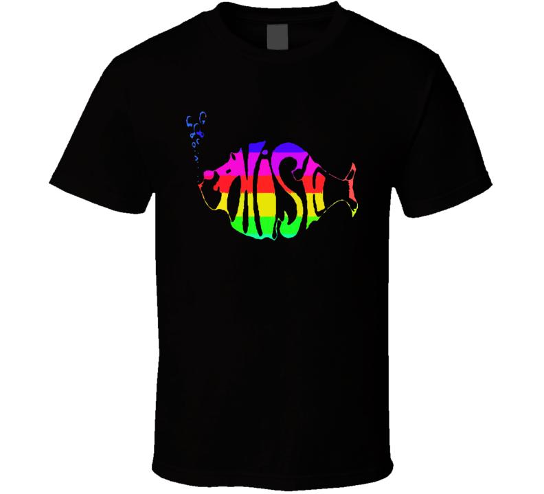 Phish Fish Music T Shirt