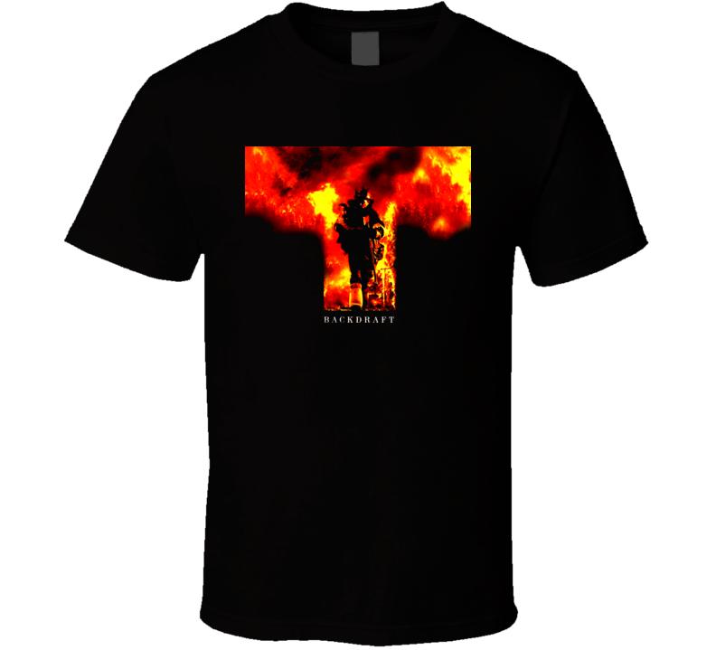 Backdraft Kurt Russell Movie T Shirt