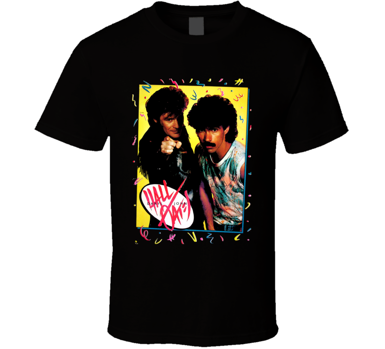 Hall And Oates 80S Retro Pop Music T Shirt