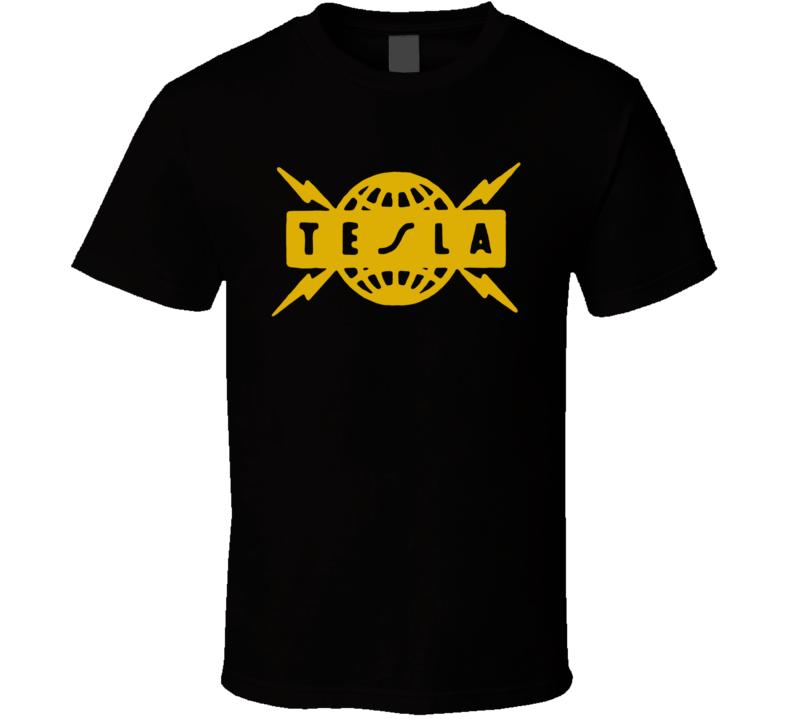 Tesla Music 80S Rock Band T Shirt