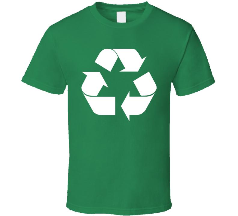 Recycle Logo Green Earth T Shirt