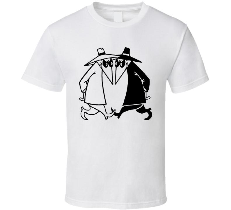 Spy Vs Spy Mad Tv Comic T Shirt