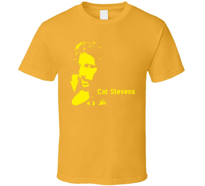 Cat Stevens Music Guitar T Shirt