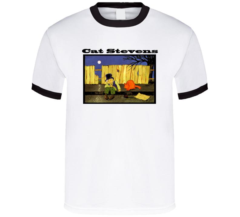 Cat Stevens Teaser And The Firecat Cover T Shirt