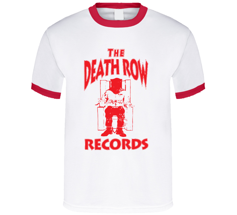 The Death Row Records Music T Shirt