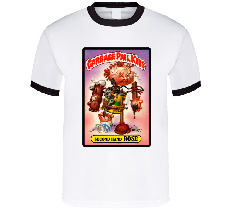 31848be80 Garbage Pail Kids Second Hand Rose T Shirt