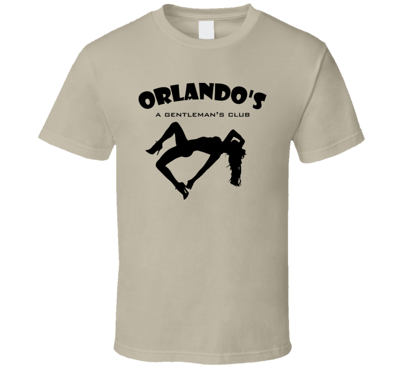Orlando\'S A Gentleman\'S Club The Wire T Shirt