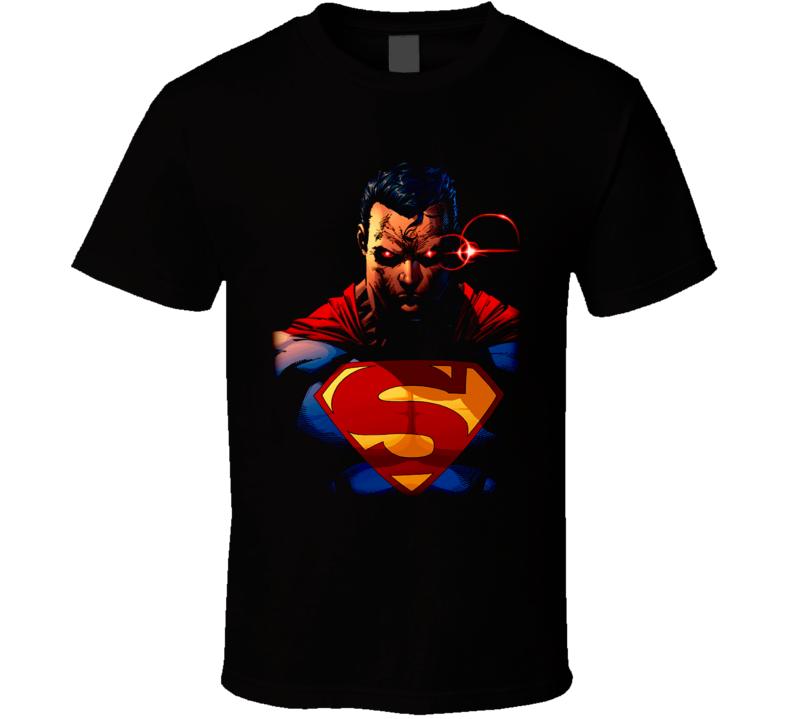 Superman Angry Comic Book T Shirt