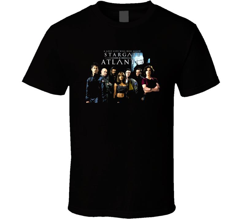 Stargate Atlantis Tv Show T Shirt
