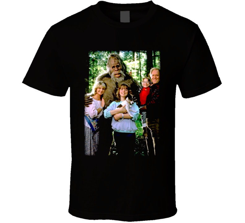 Harry And The Hendersons Movie Bigfoot T Shirt