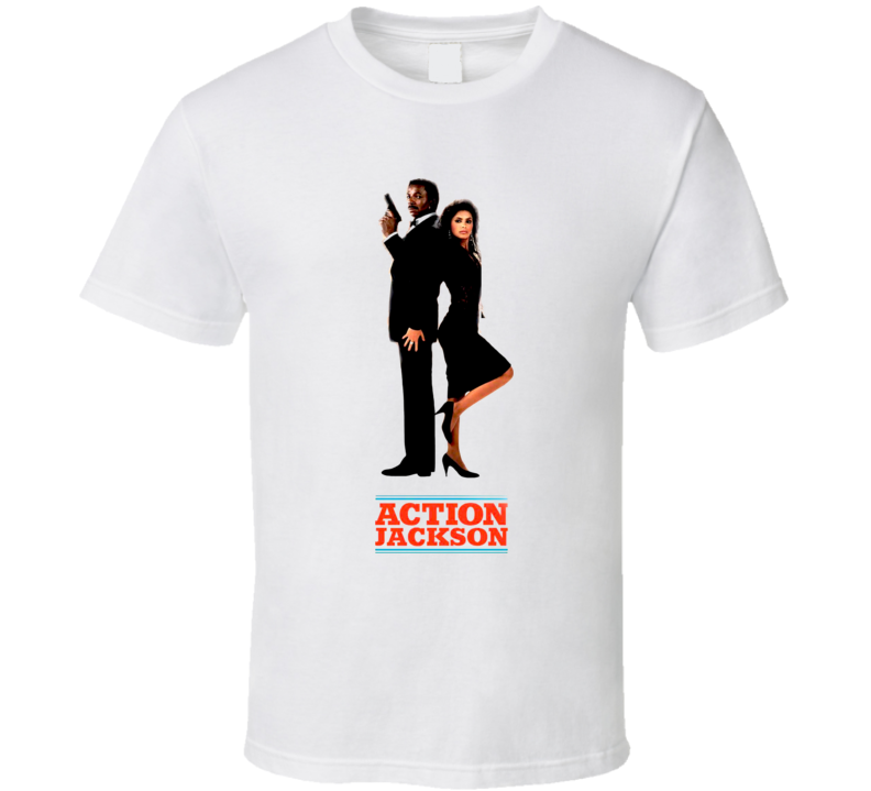 Action Jackson Movie 80'S T Shirt