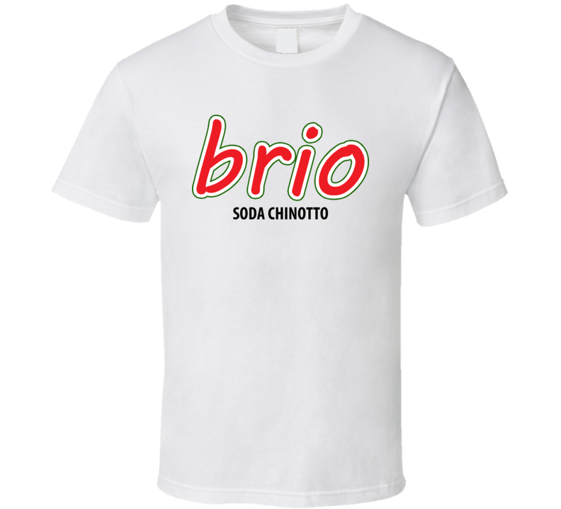 Brio soda chinotto drink t shirt