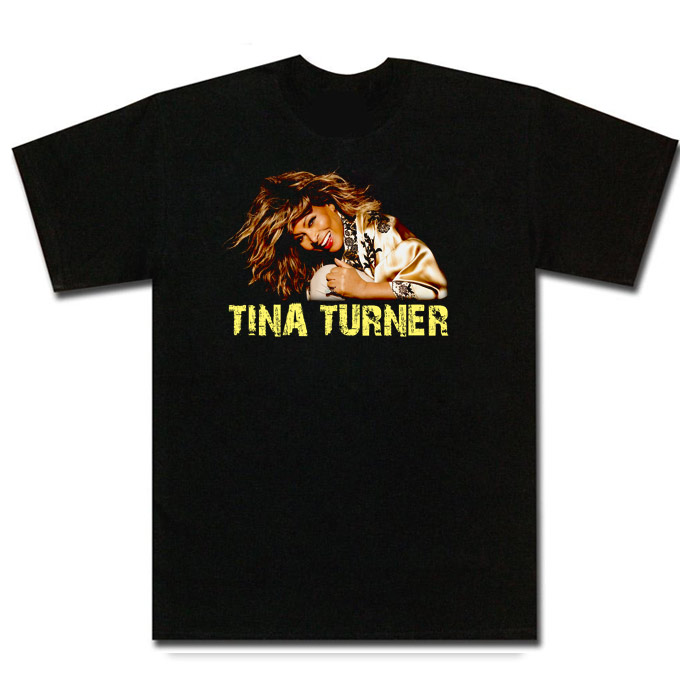 Tina Turner singer t shirt