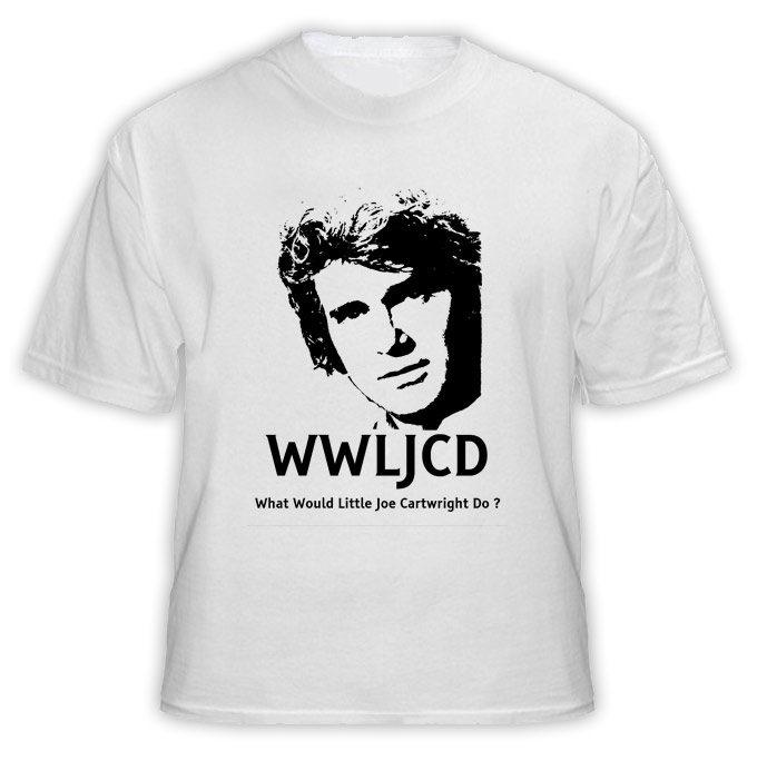 What Would Little Joe Cartwright Do WWJD Bonanza T Shirt
