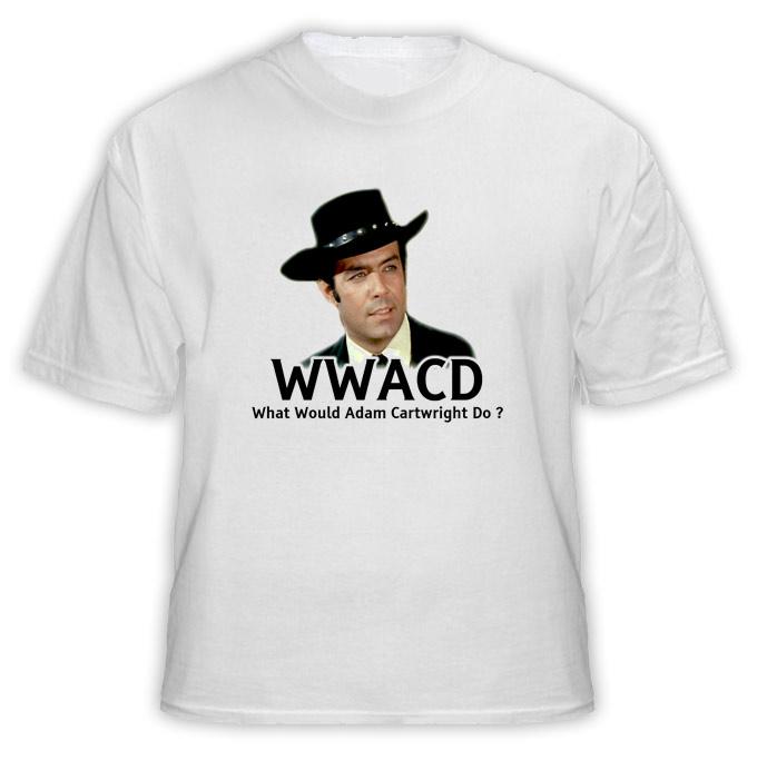 What Would Adam Cartwright WWJD Bonanza T Shirt