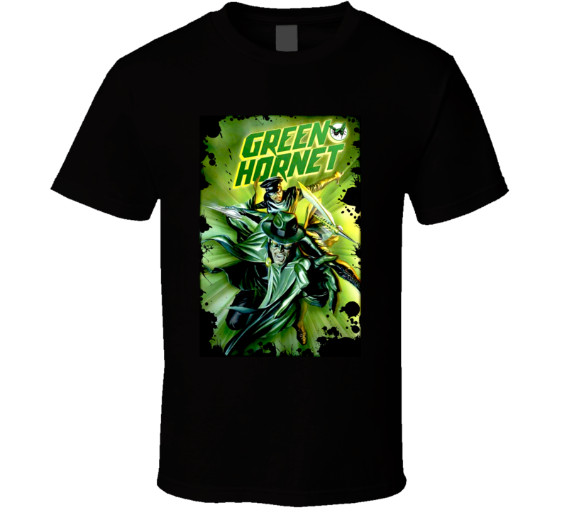 Green Hornet TV Show T Shirt