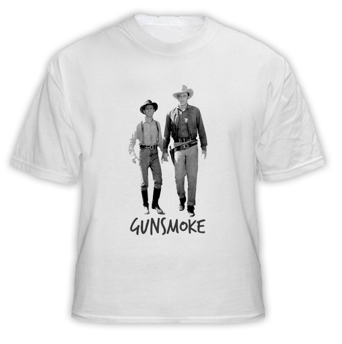 Gunsmoke TV Show T Shirt