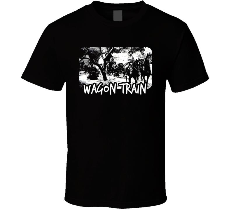 Wagon Train TV Show T Shirt