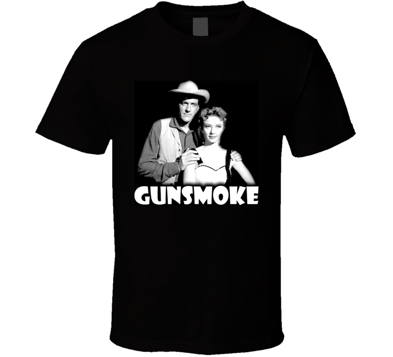 Gunsmoke TV Show T Shirt