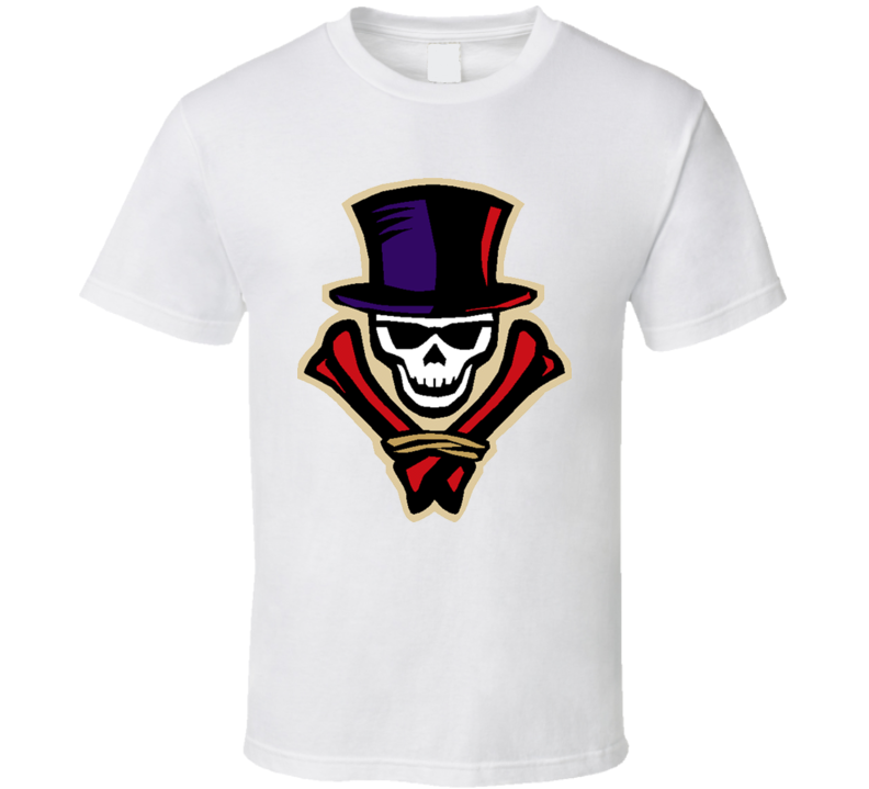 New Orleans Voodoo Primary Logo Afl T Shirt