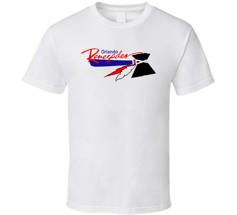 Orlando Renegades Primary Logo Usfl T Shirt