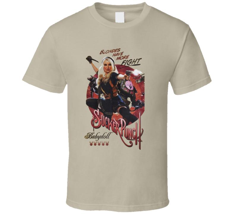 Sucker Punch Baby Doll Fight Movie T Shirt