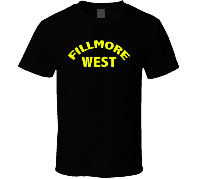 Fillmore East Legendary 70S Vintage Music T Shirt