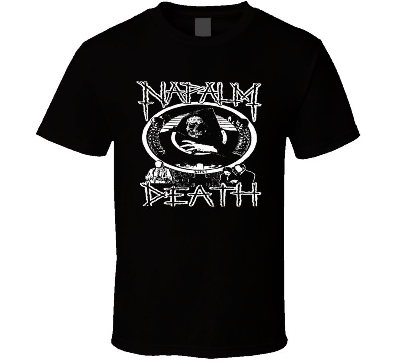 Napalm Death-T-Shirt-Death Metal T Shirt